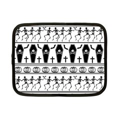 Halloween Pattern Netbook Case (small)