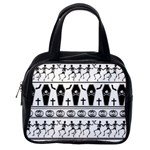Halloween pattern Classic Handbags (One Side) Front
