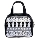 Halloween pattern Classic Handbags (2 Sides) Front
