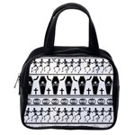 Halloween pattern Classic Handbags (2 Sides) Back