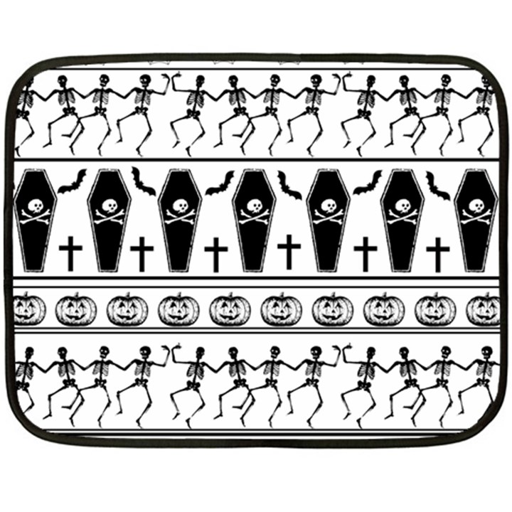 Halloween pattern Double Sided Fleece Blanket (Mini)