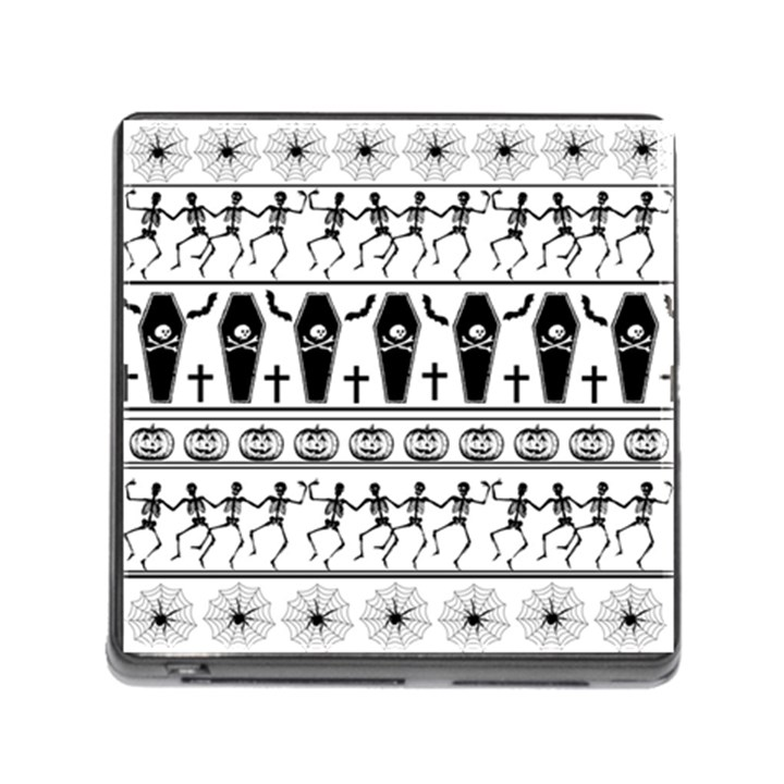 Halloween pattern Memory Card Reader (Square)