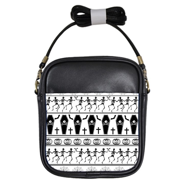 Halloween pattern Girls Sling Bags