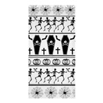Halloween pattern Shower Curtain 36  x 72  (Stall)  33.26 x66.24 Curtain
