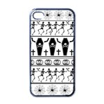 Halloween pattern Apple iPhone 4 Case (Black) Front