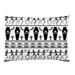 Halloween pattern Pillow Case (Two Sides) Back