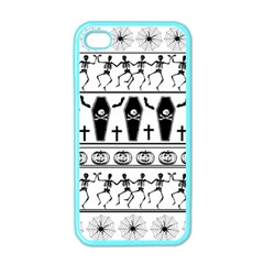Halloween Pattern Apple Iphone 4 Case (color)