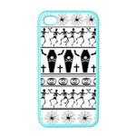 Halloween pattern Apple iPhone 4 Case (Color) Front