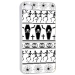 Halloween pattern Apple iPhone 4/4s Seamless Case (White) Front