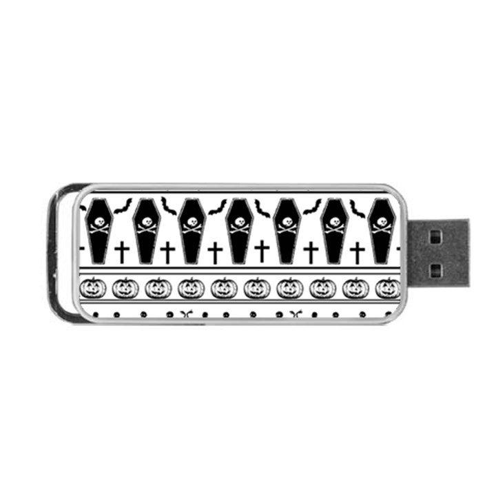 Halloween pattern Portable USB Flash (Two Sides)