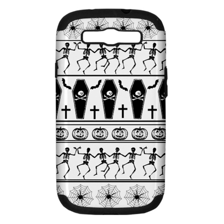 Halloween pattern Samsung Galaxy S III Hardshell Case (PC+Silicone)