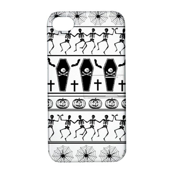 Halloween pattern Apple iPhone 4/4S Hardshell Case with Stand