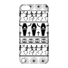Halloween Pattern Apple Ipod Touch 5 Hardshell Case With Stand