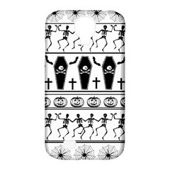 Halloween Pattern Samsung Galaxy S4 Classic Hardshell Case (pc+silicone)