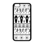 Halloween pattern Apple iPhone 5C Seamless Case (Black) Front