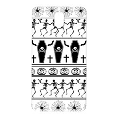 Halloween Pattern Samsung Galaxy Note 3 N9005 Hardshell Back Case