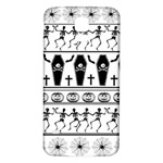 Halloween pattern Samsung Galaxy S5 Back Case (White) Front