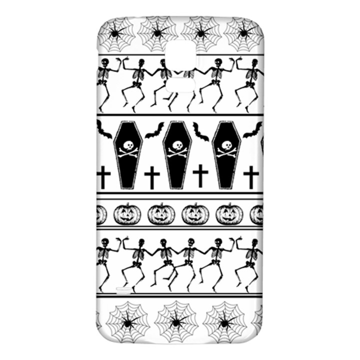 Halloween pattern Samsung Galaxy S5 Back Case (White)