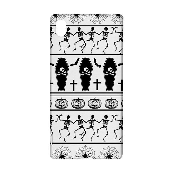 Halloween pattern Sony Xperia Z3+