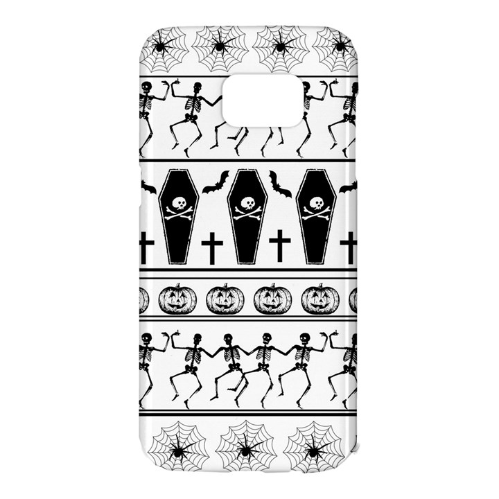 Halloween pattern Samsung Galaxy S7 Edge Hardshell Case