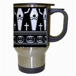 Halloween pattern Travel Mugs (White) Right