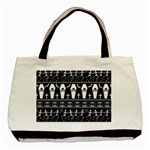 Halloween pattern Basic Tote Bag (Two Sides) Back