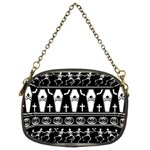 Halloween pattern Chain Purses (Two Sides)  Back