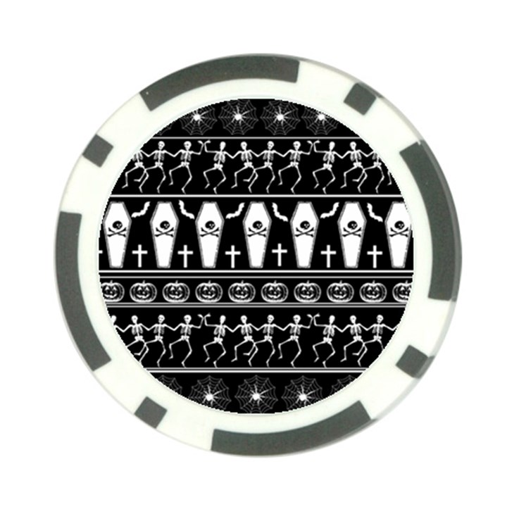 Halloween pattern Poker Chip Card Guard (10 pack)