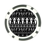 Halloween pattern Poker Chip Card Guard (10 pack) Back