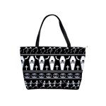 Halloween pattern Shoulder Handbags Front