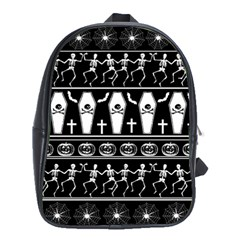 Halloween Pattern School Bag (xl)