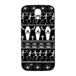 Halloween pattern Samsung Galaxy S4 I9500/I9505  Hardshell Back Case Front