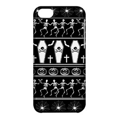 Halloween Pattern Apple Iphone 5c Hardshell Case