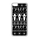 Halloween pattern Apple iPhone 5C Seamless Case (White) Front