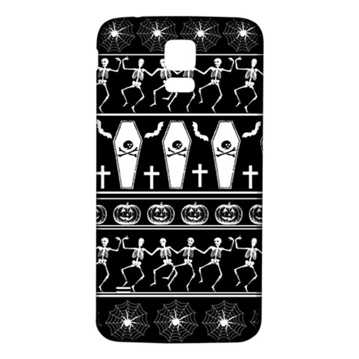 Halloween pattern Samsung Galaxy S5 Back Case (White)