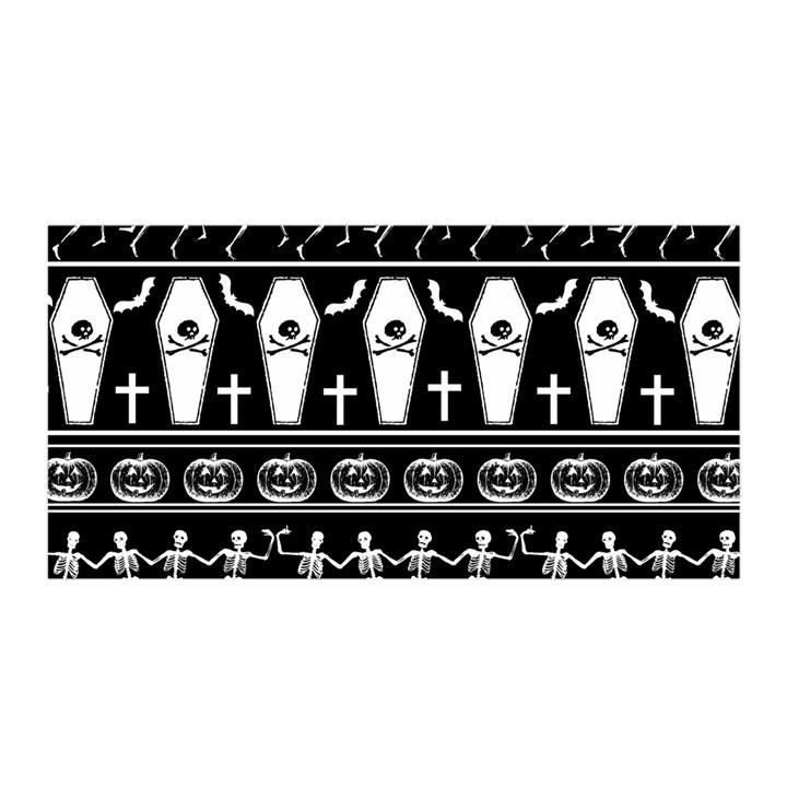 Halloween pattern Satin Wrap