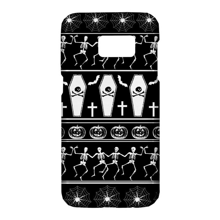 Halloween pattern Samsung Galaxy S7 Hardshell Case