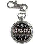 Halloween pattern Key Chain Watches Front