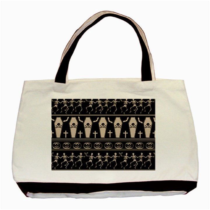 Halloween pattern Basic Tote Bag