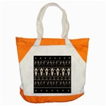 Halloween pattern Accent Tote Bag Front