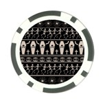 Halloween pattern Poker Chip Card Guard Front
