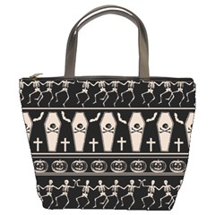 Halloween Pattern Bucket Bags