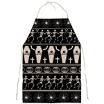 Halloween pattern Full Print Aprons Front