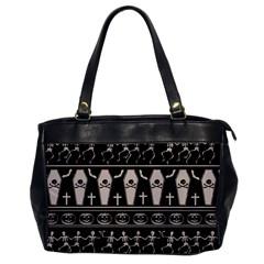 Halloween Pattern Office Handbags