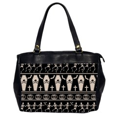 Halloween Pattern Office Handbags (2 Sides)