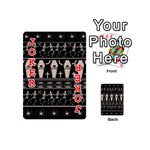 Halloween pattern Playing Cards 54 (Mini)  Front - Joker2