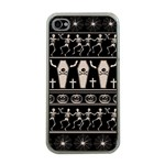 Halloween pattern Apple iPhone 4 Case (Clear) Front