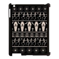 Halloween Pattern Apple Ipad 3/4 Case (black)
