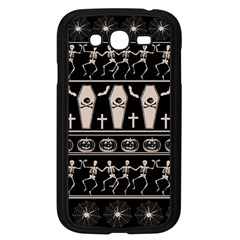 Halloween Pattern Samsung Galaxy Grand Duos I9082 Case (black)