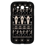 Halloween pattern Samsung Galaxy Grand DUOS I9082 Case (Black) Front